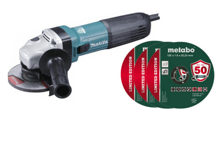 Makita GA5041C01 Szlifierka kątowa 1400W 125mm