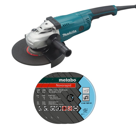 Makita GA9020 Szlifierka kątowa 2200W 230mm