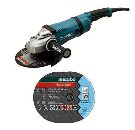 Makita GA9030R Szlifierka kątowa 2400W 230mm