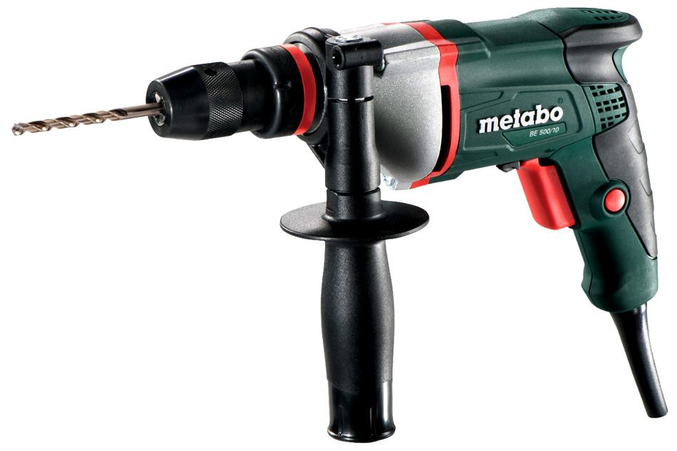 Metabo BE 500/10 Wiertarka bezudarowa 500W 16Nm